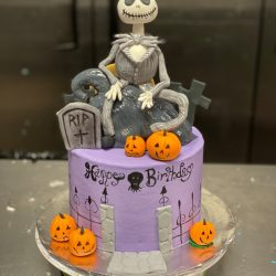 nightmare before christmas cakes, birthday cakes arlington, cakes in dallas, thats the cake bakery