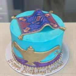 Aladdin Cakes, Birthday cakes dallas, disney birthday cakes, arlington bakery, custom cakes dallas