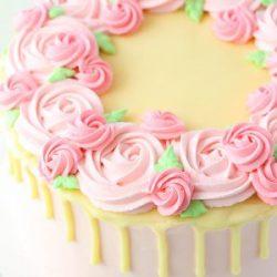 Floral Drips Dessert cakes, Birthday Cakes, Dessert cakes, Dallas bakery