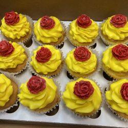 Beauty and the Beast Cupcake | Dallas Custom Cupcakes | Arlington, TX
