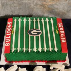 Georgia Bulldogs Cake | Grooms Cakes | Dallas Cakes | Dallas Bakery
