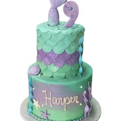 Mermaid Inspired Cakes, mermaid cakes, birthday cakes for girls, custom cakes, ocean cakes, fort worth bakery, sugar bee sweets, custom dallas bakery