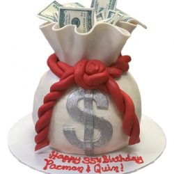 the london baker, sugar bee sweets, money cakes, money bag cakes, fort worth bakery, dallas cakes bakery