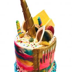 unicorn cakes, wild unicorn cakes, fort worth bakery, dallas custom cakes, cakes for girls, the london baker