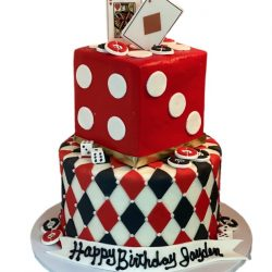 casino cakes, birthday cakes, custom birthday cakes, dallas bakery