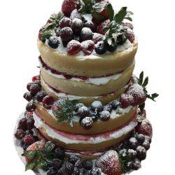 Naked cakes, fruit cakes, naked wedding cakes, custom wedding cakes, small wedding cakes, raspberry jam cakes, thats the cake, dallas cakes