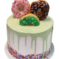 Donut Cakes, Donut Birthday Cakes, Dallas Bakery, Arlington Bakery
