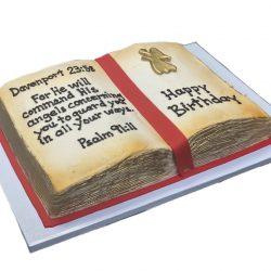 open bible birthday cakes, custom cakes in arlington, that's the cake bakery