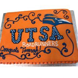 UTSA Graduation Cake, Custom Graduation Cakes, That's The Cake Bakery