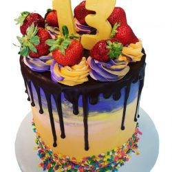 strawberry cakes, marbled cakes, 13th birthday cakes, drip cakes, custom birthday cakes, dallas bakery