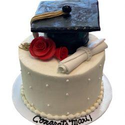 Small graduation cakes, fort worth cakes, simple cakes, dallas bakery, arlington bakery