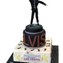 Elvis Presley cakes, elvis birthday cakes, las vegas birthday cakes