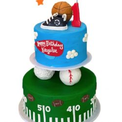 Sports Cakes, Sports Birthday Cakes, 1st birthday cakes, Custom cakes in Arlington