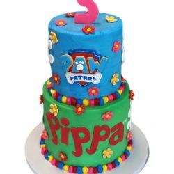 Paw patrol cakes, birthday cakes, 3rd birthday cakes