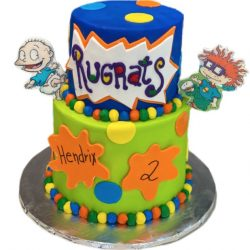 Rugrats cakes, birthday cakes, custom bakery, dallas cakes