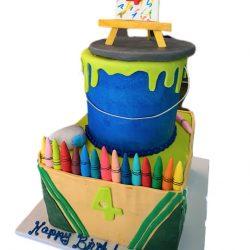 Crayola Birthday Cakes, Crayon cakes, coloring cakes, birthday cakes