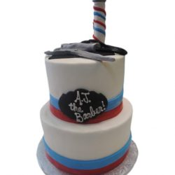 Barber Shop Birthday Cakes | Themed Birthday Cakes | Custom Cakes all occasion | Specialty Birthday | Arlington, TX