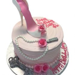 Small Pink High Heel Shoe, Cute Birthday Cakes, Hot Pink Cakes, Dallas Bakery, Fort Worth Cakes