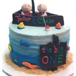 Boat theme cakes, nautical theme cakes, birthday cakes, 1st birthday cakes
