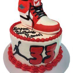 High Top Nike Air Cakes | Air Jordan BIRTHDAY CAKES | CAKEDADDYY ARLINGTON BAKERY | CUSTOM CAKES DALLAS
