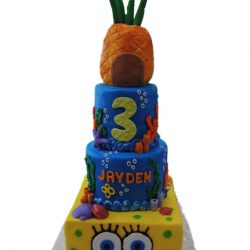 Spongebob Squarepants cakes | birthday cakes | dallas bakery | fort worth bakery