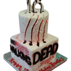 Walking Dead cakes, Custom Birthday Cakes, 18th birthday cakes, dallas bakery