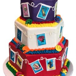 La Loteria Cakes, Quincenera Cakes, Custom Cakes Dallas, Bakery in Arlington