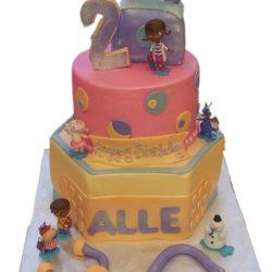 Doc McStuffin Cake, Birthday cakes for 2nd birthday, kids birthday cake, dallas bakery