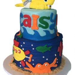 BABY SHARK CAKES, BIRTHDAY CAKES IN ARLINGTON, THAT'S THE CAKE