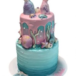 mermaid cakes, birthday cakes, dallas bakery