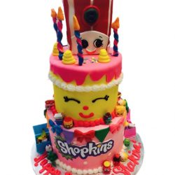 shopkins cakes, birthday cakes, dallas bakery, arlington cakes
