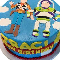 toy story cakes, birthday cakes, dallas bakery, arlington custom cakes