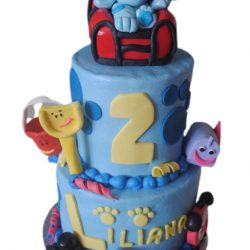 Blue Clues birthday cake, 2nd birthday cakes, fort worth cakes, arlington bakery