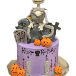 Nightmare before christmas cake, birthday cakes, dallas bakery