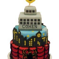 Spiderman cake   dallas bakery