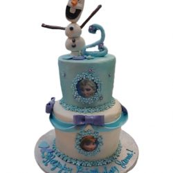 frozen cakes, dallas bakery, olaf cakes, 2nd birthday cakes