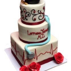 Graduation Nursing Cakes, Custom Cakes, Specialty Bakery, Best Bakeries in Dallas
