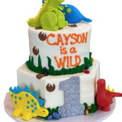 dinosaur birthday cakes, dallas bakery, arlington bakery, custom cakes dallas