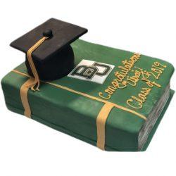 Baylor Graduation Cake, College Graduation, High School Graduation Cake, Dallas Bakery, Arlington Bakery