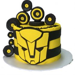 BumbleBee Cakes, Transformer Cakes, Birthday Cakes in Dallas, Fort Worth Bakery