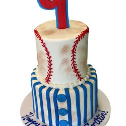 baseball birthday cakes, 9th birthday cakes, boy birthday cakes, custom cakes dallas, fort worth cakes