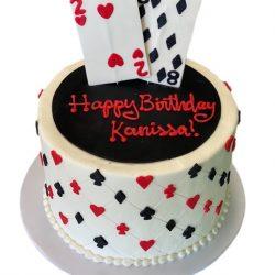 casino cakes, birthday cakes, 28 year old birthday cakes, custom cakes in fort worth, arlington bakery