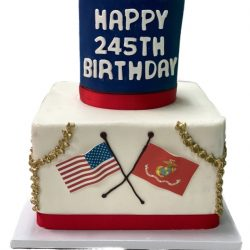 Marines Birthday cakes, Semper fi cakes, American patriot cakes, dallas fort worth bakery