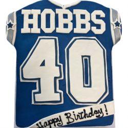 Dallas Cowboys Cakes, Jersery Cakes, Dallas Cowboys jerseys, 40th birthday cake