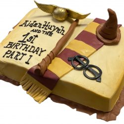 Harry Potter Cake | 1st birthday | custom cakes dallas | fort worth birthday cakes, that's the cake, delicious cakes addison, frisco bakery