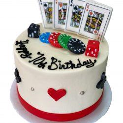 Small Casino Cakes   Dallas Bakery   casino birthday cake   Arlington Bakery   That's The Cake