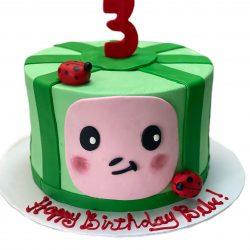 Coco Melon Single Cake   Small cakes   birthday cakes dallas   That's The Cake
