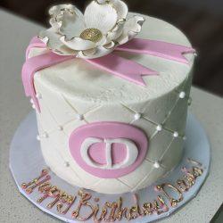 Dior Custom Birthday Cake for Girl