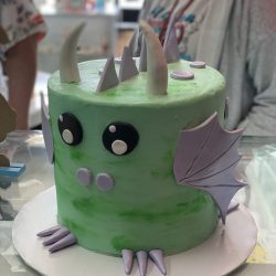 dragon baby shower cake, cute baby shower cakes, dallas, fort worth, arlington