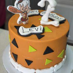 flintstone birthday cakes, 2nd birthday cakes